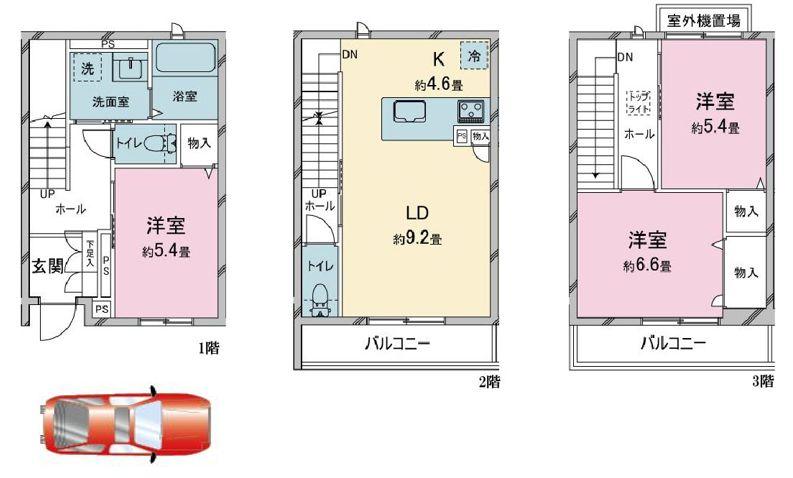 LACHIC Nishiyama North B棟